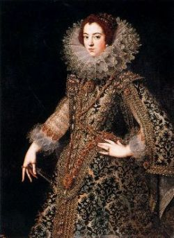 La reina Isabel de Borbón, anónimo