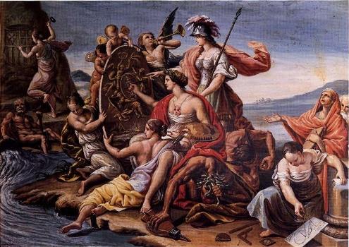 Alegoría de las Bellas Artes, de Manuel Bayeu