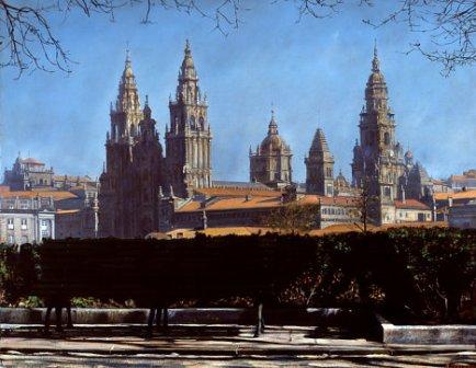 Parque de Rosalía, Santiago, de Modesto Trigo