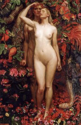 La mujer, el hombre, la serpiente, de John Liston Byam Shaw