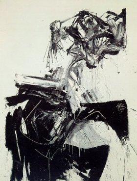 Retrato imaginario de Brigitte Bardot, de Antonio Saura