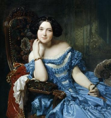 La condesa de Vilches, de Federico Madrazo
