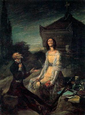 Sátira del suicidio romántico, de Leonardo Alenza