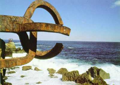 El peine del viento, de Eduardo Chillida