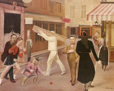 La calle, de Balthus