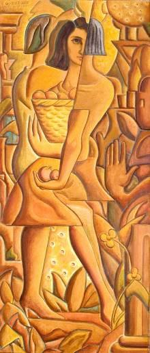 La niña de las naranjas (Anita), de Carlos Quizpez Asín