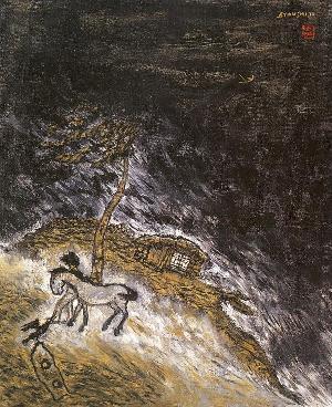Tormenta en la oscuridad, de Ji Byun Shi