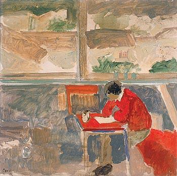 Joven leyendo, de Adolfo Couve
