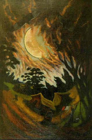Rancho y luna, de José Cuneo