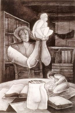 Mesa de trabajo, de Álvaro Santiago