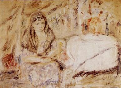 Mujer con mantilla, de Armando Reverón