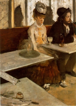 Los bebedores de absenta, de Edgar Degas