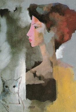 La mujer del gato, de Pablo Coronado
