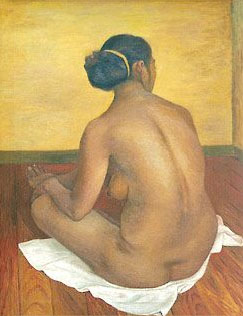 Desnudo de Concha, de Francisco Zúñiga