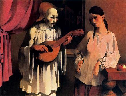Pierrot y Colombina, de Manuel Ruiz Pipó