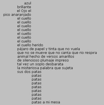 Poesía en forma de pájaro, de Jorge Eduardo Eielson
