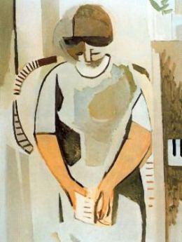 Mujer leyendo, de Francisco Bores