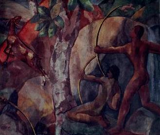Los arqueros, de Pablo Zelaya Sierra