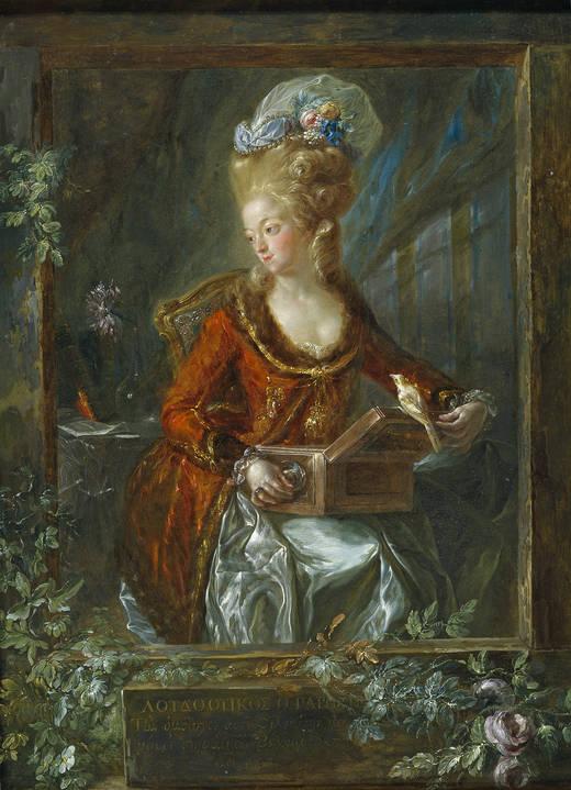 María de las Nieves Michaela Fourdinier, de Luis Paret
