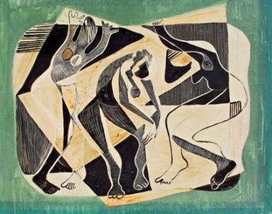 Sin título (Tres bailarines), de José Antonio Torres Martino
