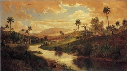 Paisaje con río, de Esteban Chartrand