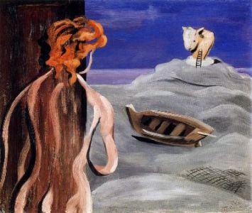 Mujer en la playa, de José Moreno Villa