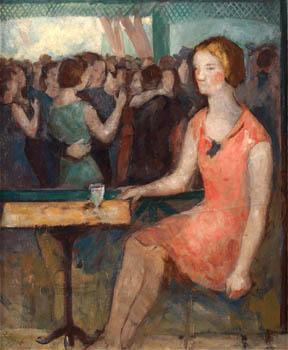 En el café, de Rafael Benet