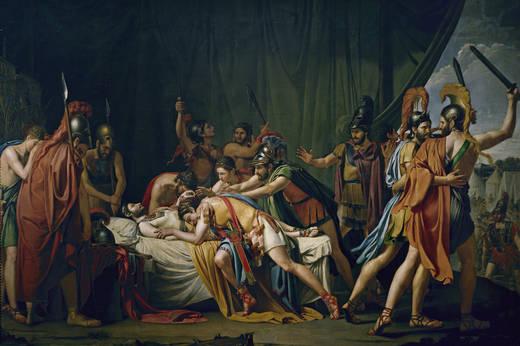 Muerte de Viriato, de José de Madrazo