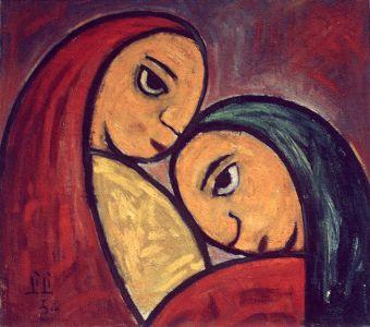 Dos mujeres, de Lilí del Mónico