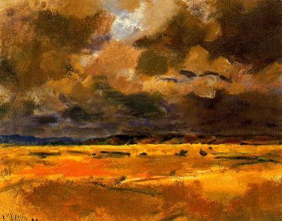 Trigales nublados, de Ricardo Macarrón
