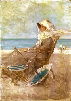 Por el mar, de Nicolae Grigorescu