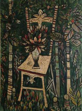 La silla, de Wilfredo Lam
