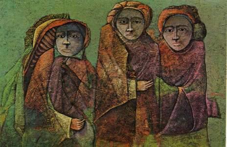 Tres figuras, de Luis Hernán Padilla