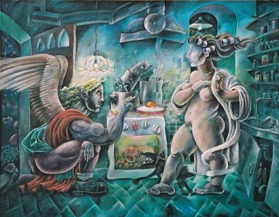 Anunciación, de Jorge Salas Ampuero