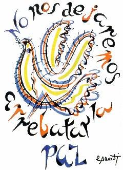 No nos dejaremos arrebatar la paz, de Rafael Alberti