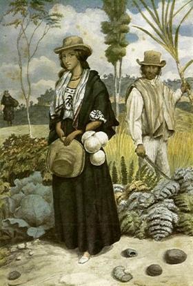 Estancieros de las cercanias de Vélez, de Carmelo Fernández