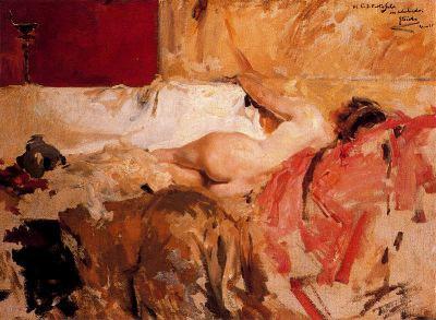 Bacante, de Joaquín Sorolla
