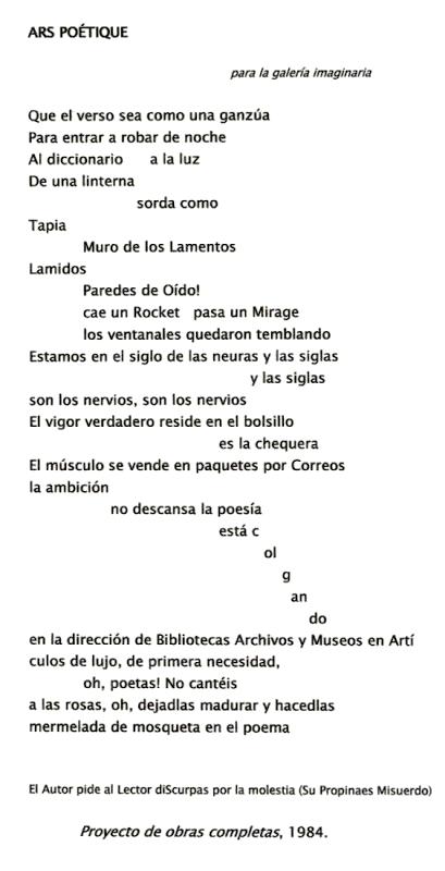 Ars Poétique