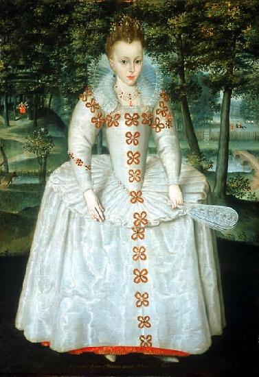 La princesa Isabel, de Robert Peake