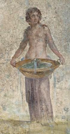 Ninfa, fresco pompeyano