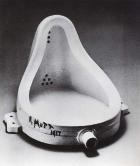 Fuente, de Marcel Duchamp