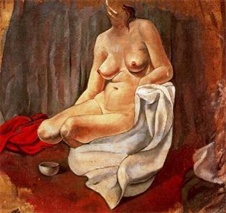 Desnudo femenino, de Salvador Dalí