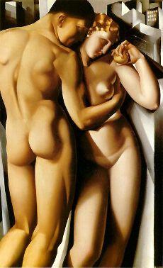 Adán y Eva, de Tamara de Lempicka