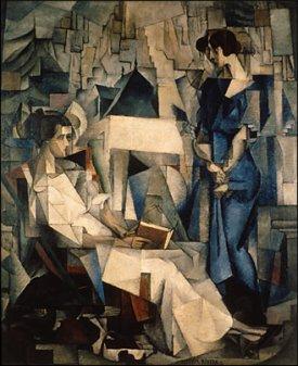 Dos mujeres, de Diego Rivera