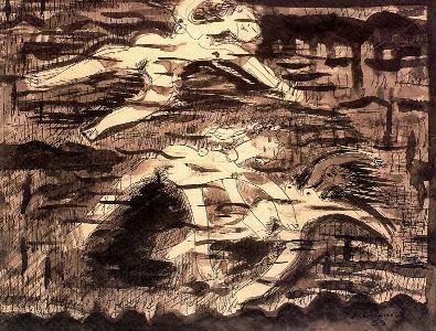 Nadadoras, de Juan Soriano
