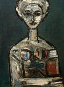 Mujer, de René Portocarrero