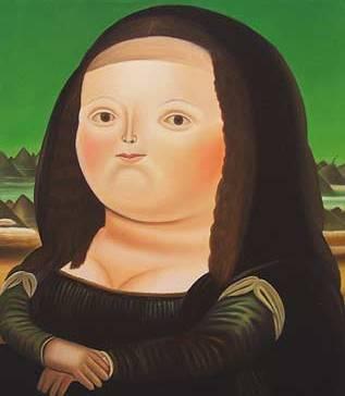 Monalisa, de Fernando Botero