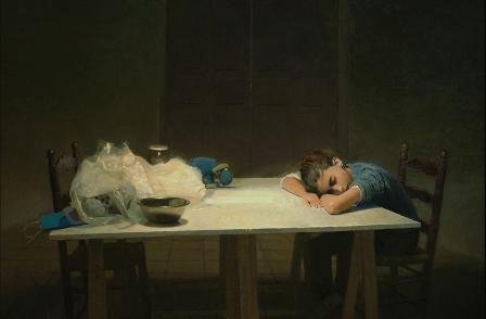 Dormitando, de Golucho