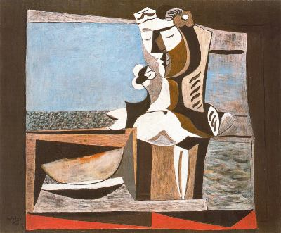 Composición cubista, de Manuel Ángeles Ortiz