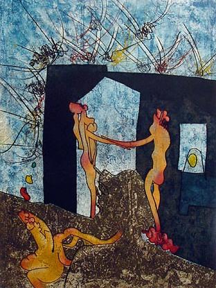 La danza de la muerte, de Roberto Matta